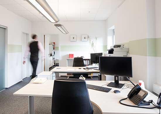 Büroräume der Rechtsanwaltskanzlei Kahnau in Eckernförde